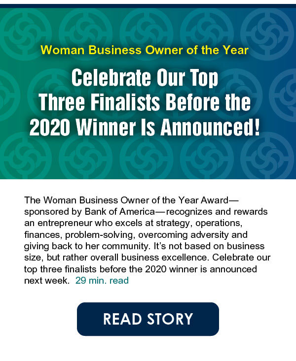 Our 3 finalists for Women Business Owner of the Year