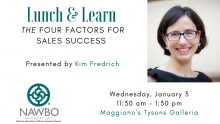 January Lunch & Learn: The Four Factors for Sales Success
